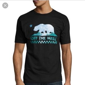 Vans men's short sleeve shirt- medium
